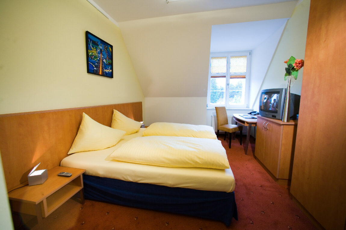 Doppelzimmer im Hotel Böhlerstern.