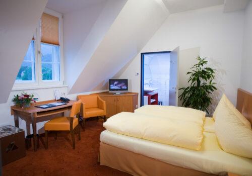 Doppelzimmer im Hotel Böhlerstern