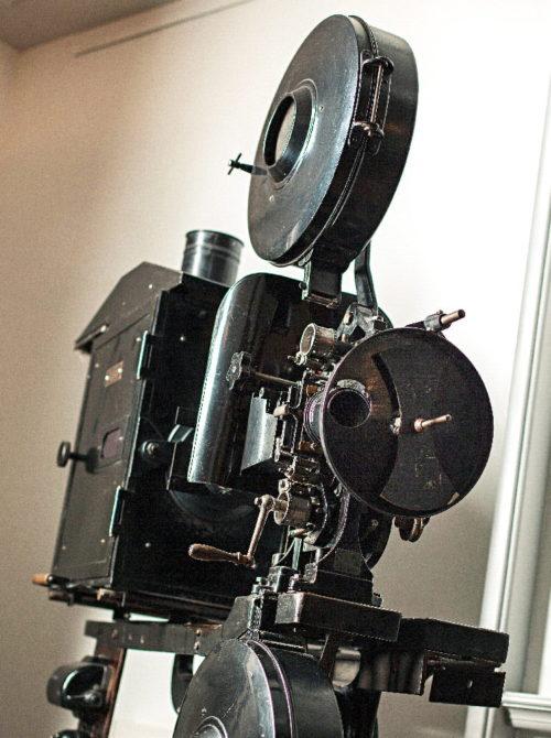 Alter Projektor