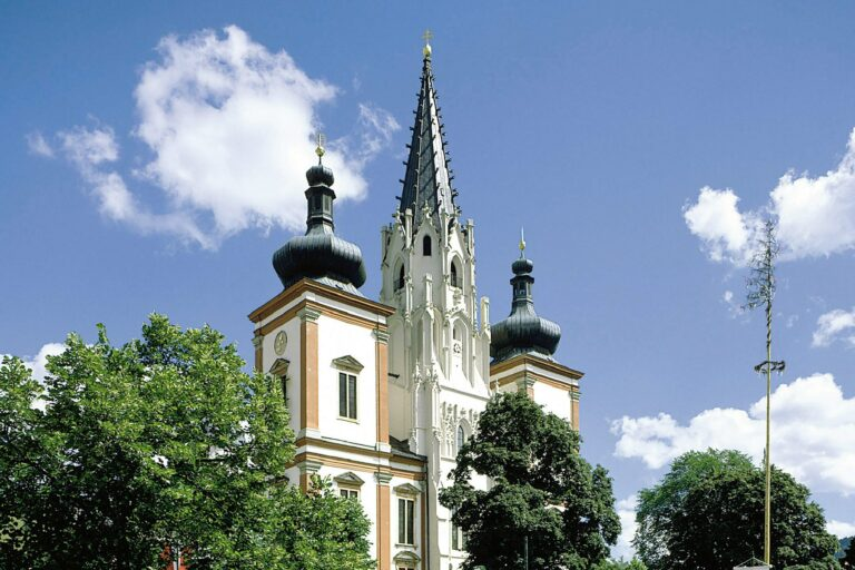 Kirche in Mariazell.
